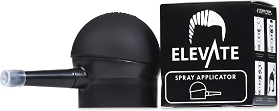ELEVATE Spray Applicator Pump Nozzle for Hair Fibers to Instantly Thicken Thinning or Balding Hair for Men and Women - Natural Hair Loss Concealer Tool