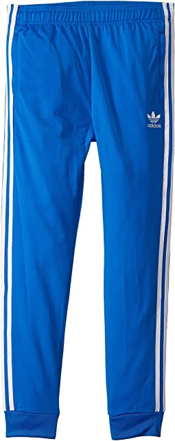 Adidas originals kids superstar fitted track pants little