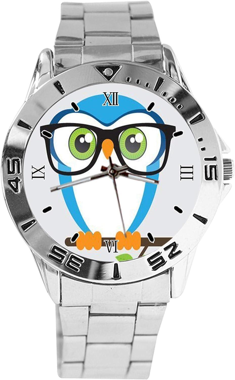 Vintage Retro Whimsical Owl Design Watch Analog New life Wrist Quartz Sil At the price