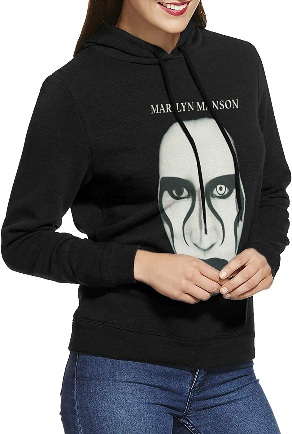 Marilyn Manson Red Lips Hoodie Cotton Sweatshirts New Shipping Free Casual Gifts Womens