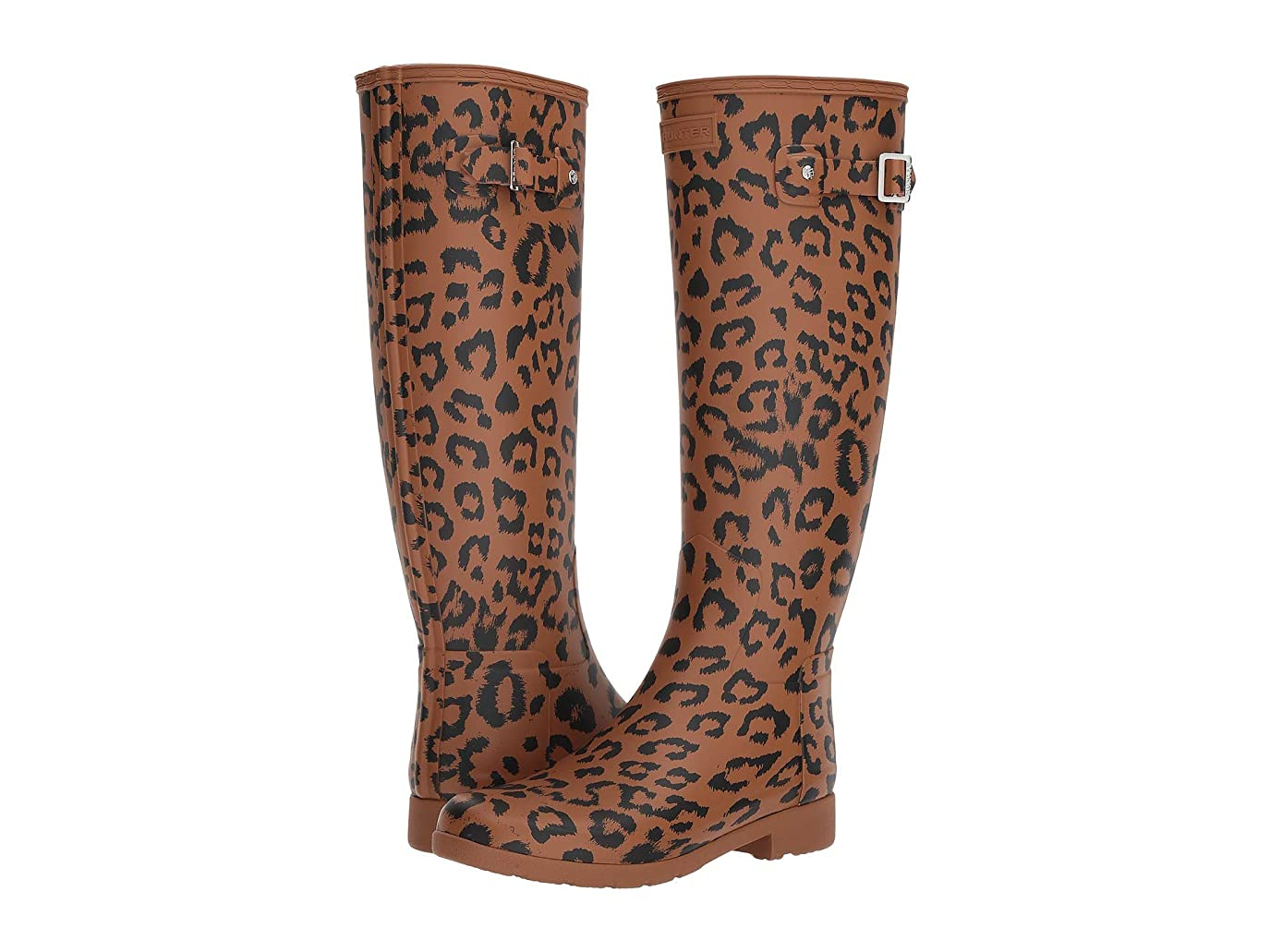 話す調子ポイント[ハンター] レディース ブーツ&レインブーツ Original Refined Hybrid Print Rain Boots [並行輸入品]