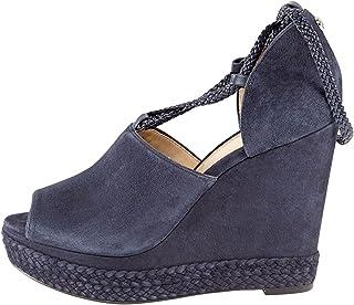Michael Kors Womens Hastings Leather Peep Toe Casual Platform Sandals