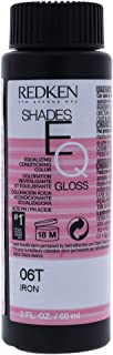 Redken Shades EQ Color Gloss Women's Hair Color, 06t Iron, 2.1 Ounce