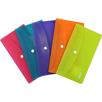 PP DIN Lang transluzent sortie... Pack mit 5 Taschen ELBA Urban Brieftaschen