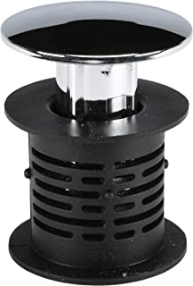 DANCO 2-in-1 Bathtub Hair Catcher Strainer and Stopper | Drain Protector Snake, Snare & Auger | Hair Drain Clog Prevention (10772)