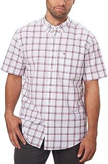 Tommy Hilfiger Mens Classic Fit Buttondown Plaid Shirt