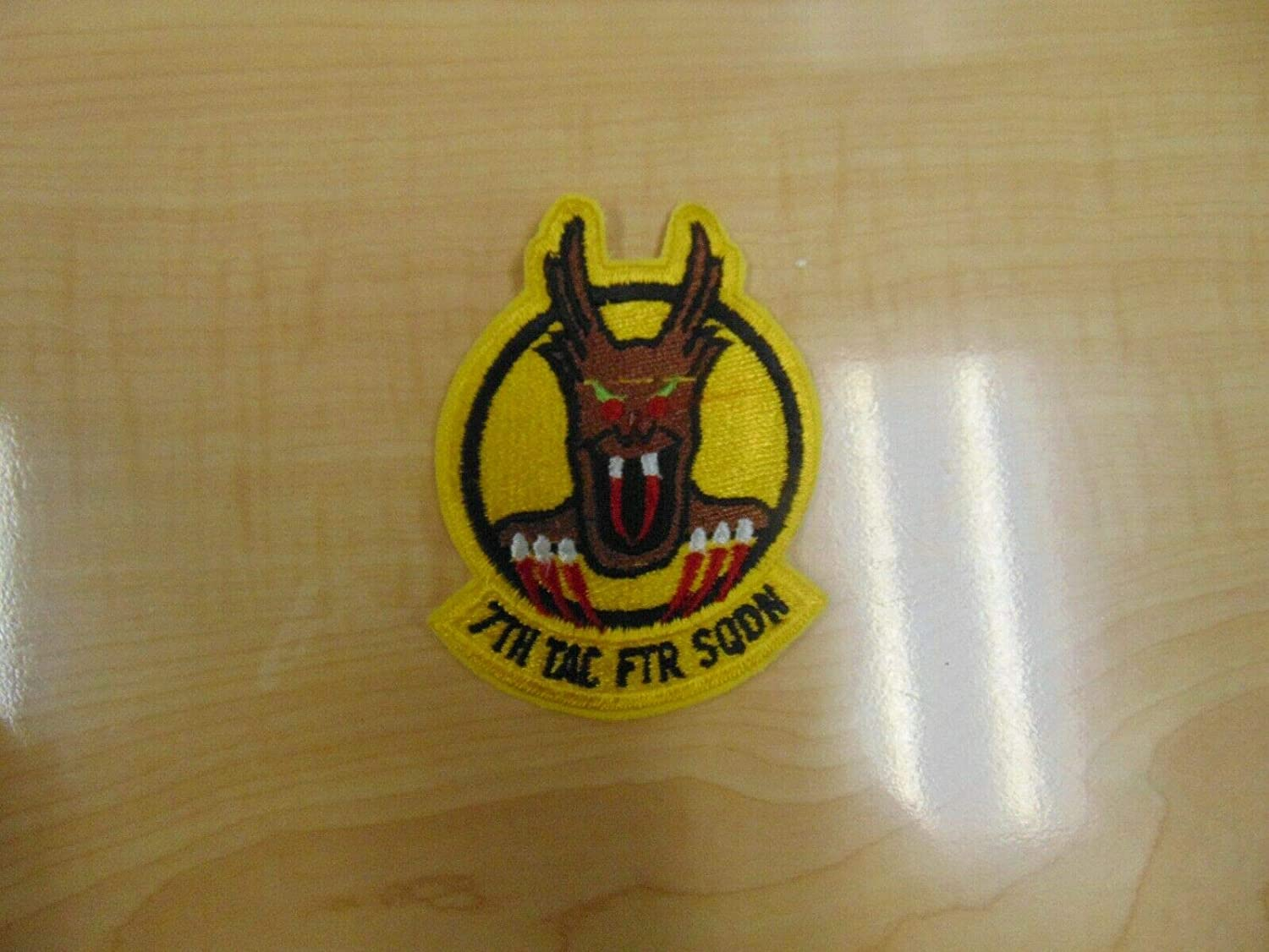 Popularity Patch Military Older 7TH Yellow Squadron Max 79% OFF Fighter Tactical