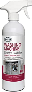 Bayes Washing Machine Cleaner & Deodorizer - Cleans and Eliminates Mold and Mildew Odors for Fresh Smelling Laundry - 24 Ounces