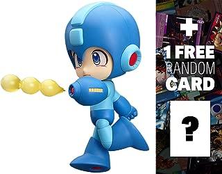 Mega Man: Nendoroid x Mega Man Mini Figure + 1 FREE Video Games Themed Trading Card Bundle