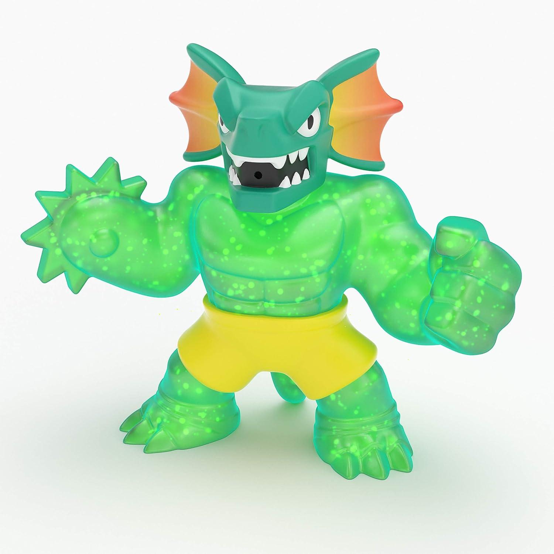 Heroes Of Goo Jit Zu Jitzu Reptaur Water Blast Stretchy Dragon figura Hero Pack