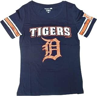 Detroit Tigers Women's Short Sleeve Scoop Neck Baby Jersey