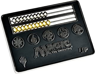 Magic: The Gathering Black Card Size Abacus Life Counter