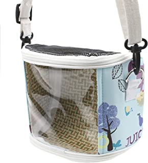 Alfie Pet - Elodie Carrier for Small Animals Like Dwarf Hamster and Mouse - Color: Blue