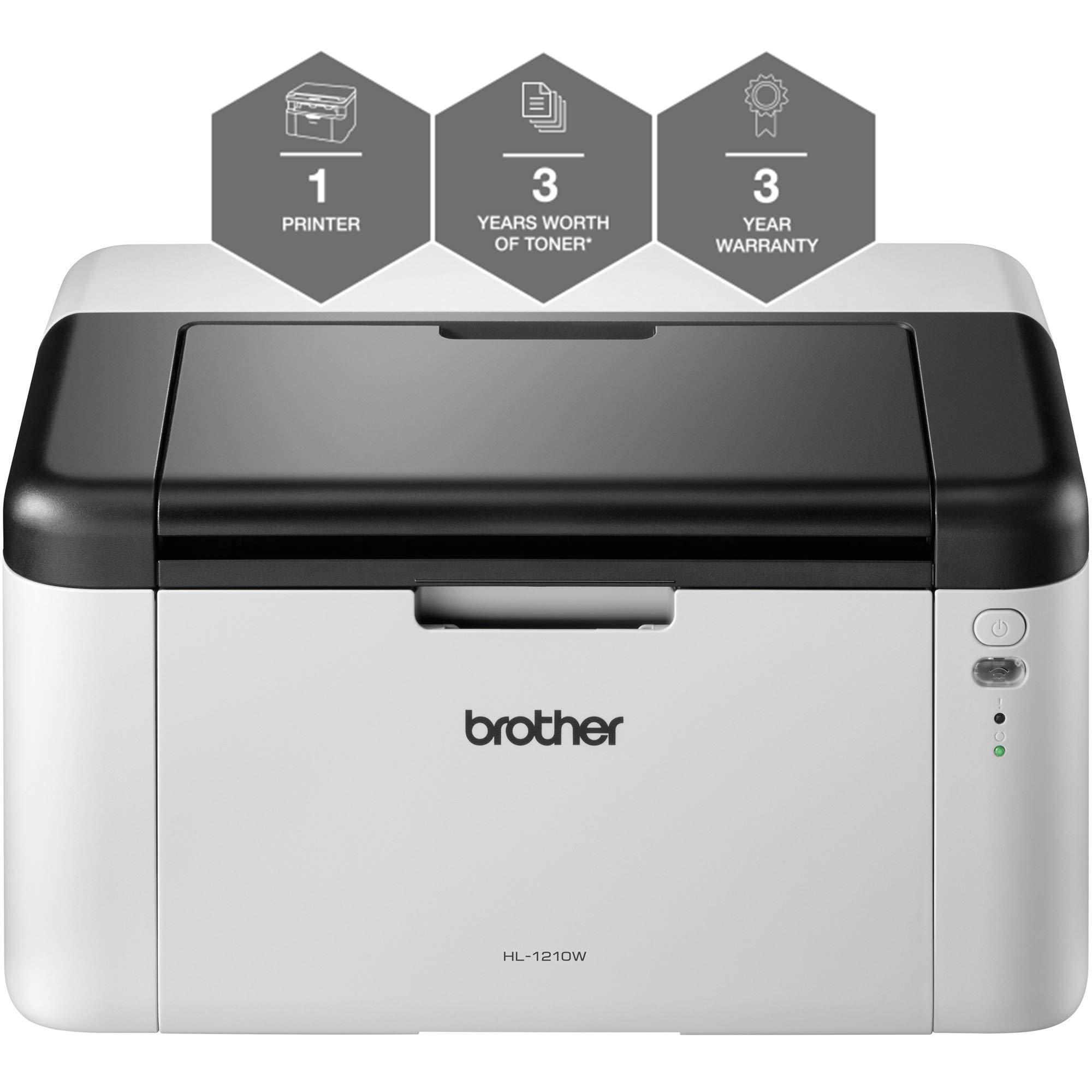 Brother Mono LaserプリンターレーザーA4ブラックHL1210WVBZU1 HL-1210WVB
