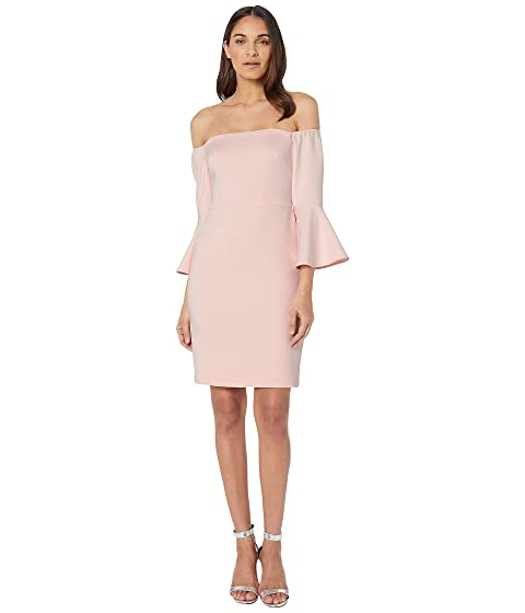 13b43f7c6c15 Betsey Johnson Off the Shoulder Bell Sleeve Dress at 6pm