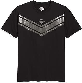 HARLEY-DAVIDSON Men's Metallic Graphic Tee, Black
