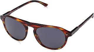 جورجيو ارماني نظارة شمسية للرجال ، رمادي ، AR8096 5580R553