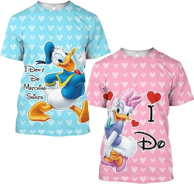 Details about  /Donald Daisy Duck Cartoon Couple Hoodie Sweatshirt Jumper Men Women Unisex 3835