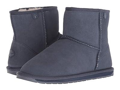 EMU Australia Kids Wallaby Mini (Toddler/Little Kid/Big Kid) (Midnight) Kids Shoes