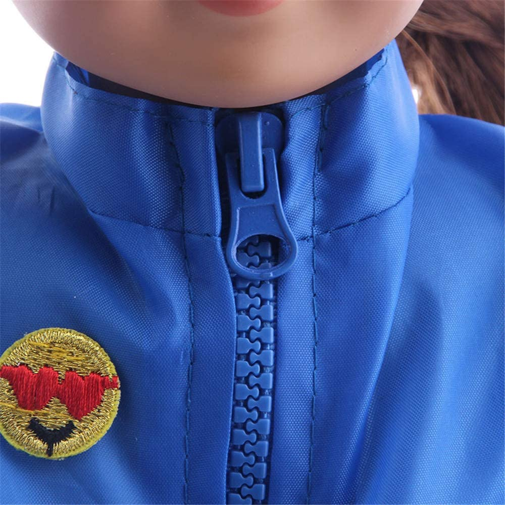 2 pi/èces//lot Uteruik V/êtements de Sport pour poup/ée American Girl 46 cm Tenues d/écontract/ées T-Shirt /à Manches Longues et Short Accessoire de Costume