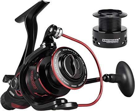 KastKing Sharky Baitfeeder III Spinning Reel 10+1...