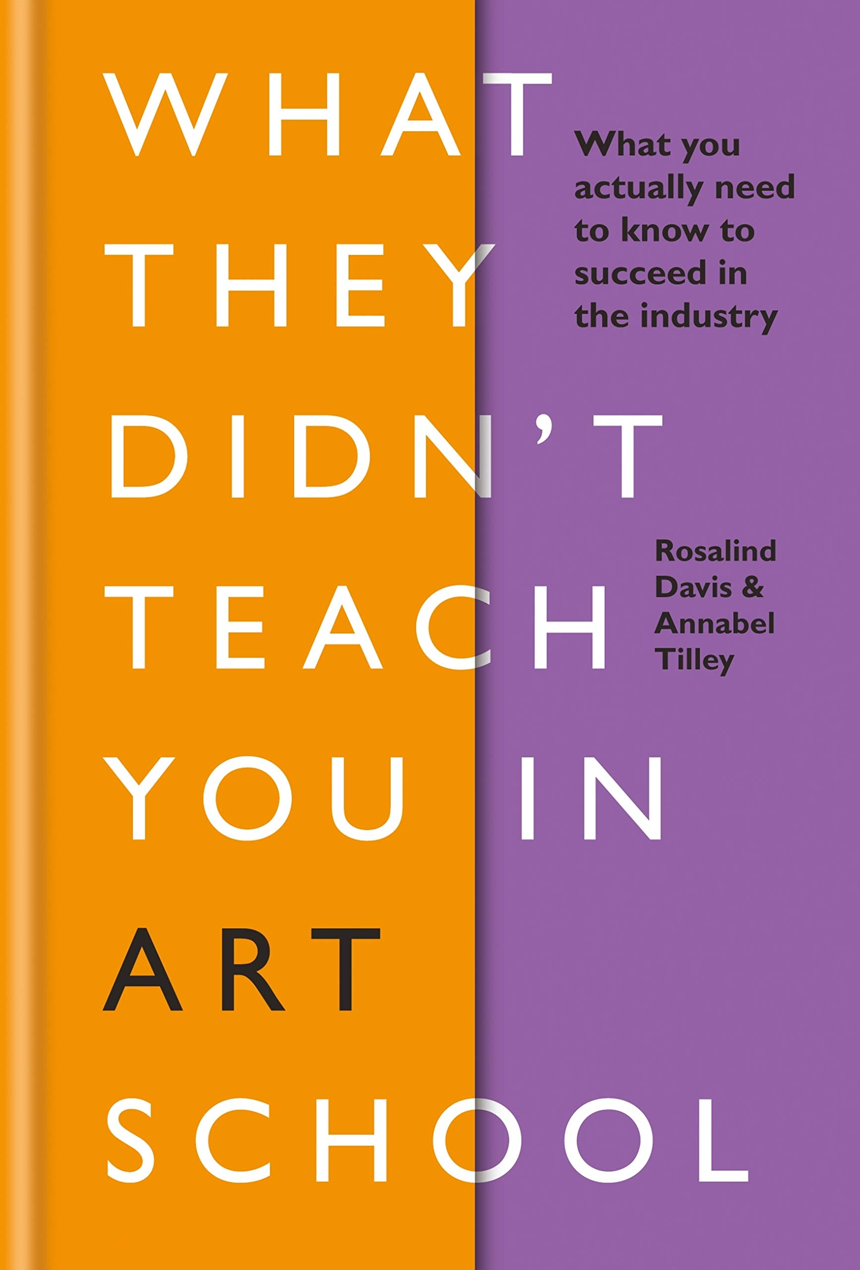Image OfWhat They Didn't Teach You In Art School: What You Need To Know To Survive As An Artist (What They Didn't Teach You In Sch...