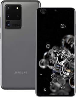 Samsung Galaxy S20 Ultra 5G 512GB SM-G988B/DS Dual-SIM Factory Unlocked Smartphone - International Version (Cosmic Grey)