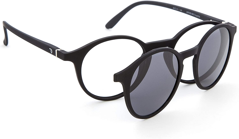 DIDINSKY Gafas de Presbicia con Filtro Anti Luz Azul con Capa de Sol. Gafas Clip on Imantadas para Hombre y Mujer. 6 Colores 0.0-1.5 - 2.5 – UFFIZI CLIP ON