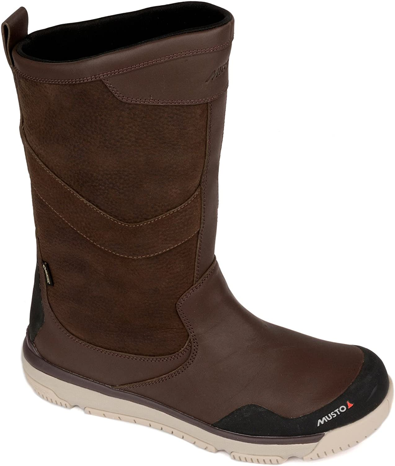 bff97efa6fe Musto Gore-Tex Leather Sailing Boot 2019 2019 2019 Dark Brown 3fbdc4 ...