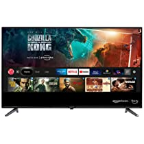 AmazonBasics 109 cm (43 inches) Full HD Smart LED Fire TV AB43E10DS (Black)