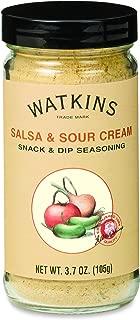 Watkins Salsa & Sour Cream Snack & Dip Seasoning, 12 Count