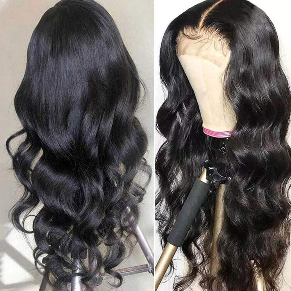 Human Hair Lace Front Wigs for Wave Brazilian Black All stores are sold Indefinitely V Body Women