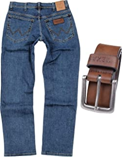 WRANGLER Jeans Jeans Uomo 4 Colori Texas Tg 30 31 32 33 34 35 L 30 32 34 36