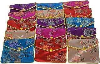 chinese silk jewelry box