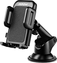 Mpow Car Phone Mount, Washable Strong Sticky Gel Pad with One-Touch Design Dashboard Car Phone Holder Compatible iPhone 12...