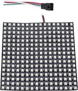 BTF-LIGHTING 0.24ft 0.96ft Pixel 256 píxeles WS2812B Panel led Individualmente Direccionable Color de Sueño Completo Iluminación DC12V