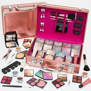Dawn Till Dusk 80pc Pro Rose Gold Cosmetic Makeup Vanity