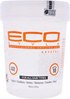 ECOCO Eco Styler Krystal Styling Gel, 32 Oz, Pack of 2