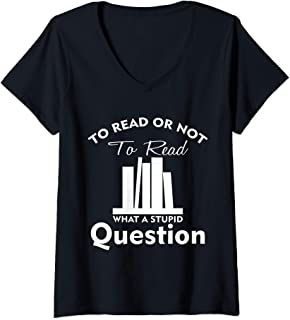 to read or not to read t shirt