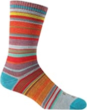 Farm to Feet Ithaca Multi-Stripe Ultralight Crew Socks
