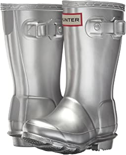 Hunter Kids Original Metallic Rain Boot (Toddler/Little Kid)