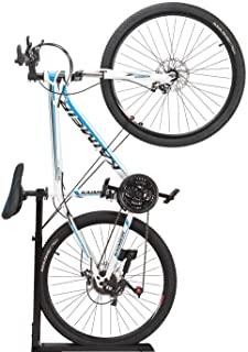 ZUKVYE Bike Stand, Bicycle Upright Design Parking Stand- for Mountain and Road Bike Freeing Floor Space in Your Living Roo...