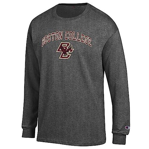 c0e55594839e Elite Fan Shop NCAA Men's Long Sleeve Shirt Dark Charcoal Gray