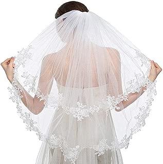 Best lace wedding veils Reviews