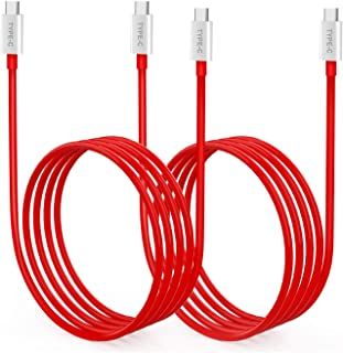 VELOGK Warp Charge 65 Cable [2 Pack] for OnePlus 8T/9/9R/9 Pro Charging Cable Replacement, 65W[10V/6.5A] Type-C to Type-C ...