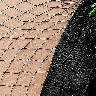 noir Anti oiseaux étang net filet protection plantes cultures maille fine