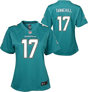 Outerstuff Ryan Tannehill Miami Dolphins NFL Nike Girls Youth Teal Game Jersey
