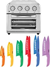 Cuisinart TOA-28 Air Fryer Toaster Oven and Advantage 12 Piece Knife Set Bundle (2 Items)