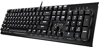 Azio Hue Black - USB Backlit Mechanical Keyboard