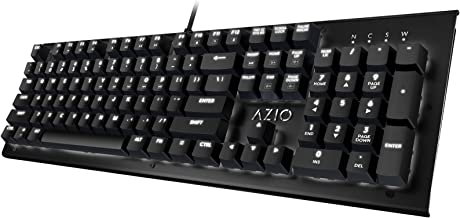 Azio Hue Black - USB Backlit Mechanical Keyboard